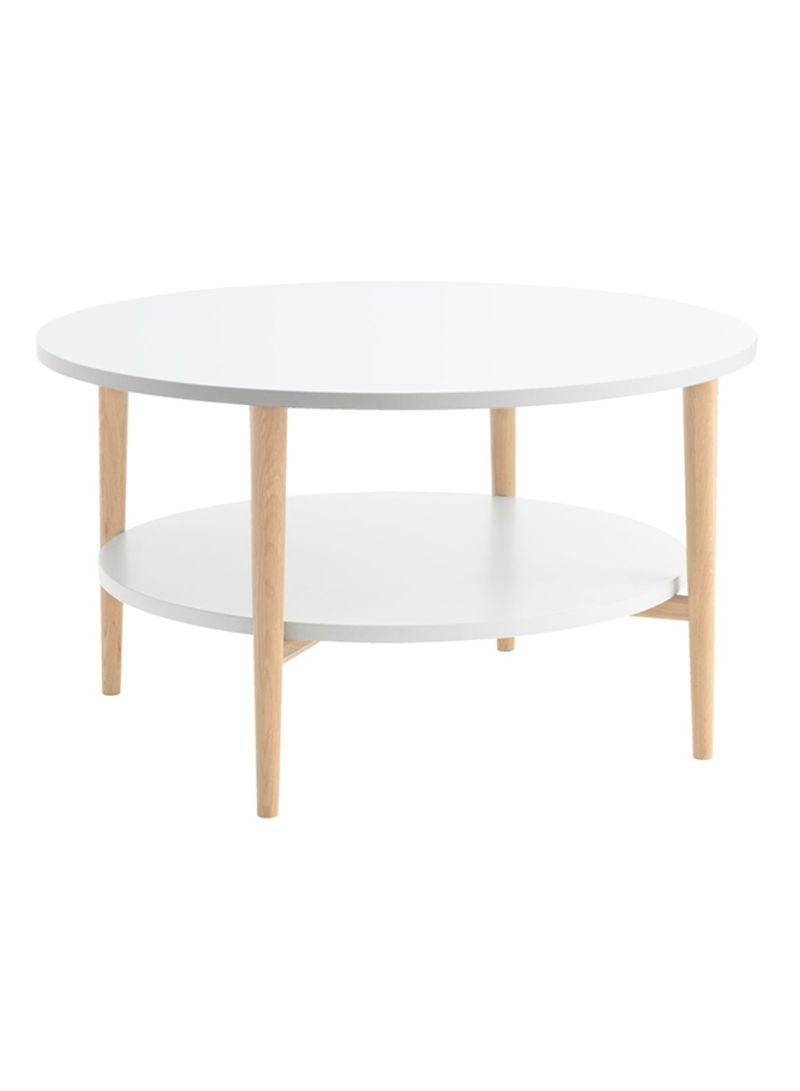 Jysk Side Table.Shop Jysk Risskov Coffee Table White Beige Online In Dubai Abu Dhabi And All Uae