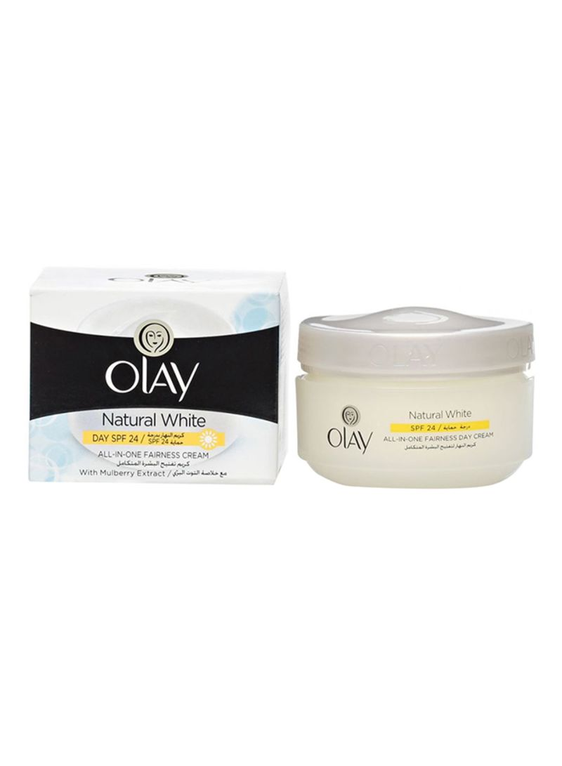 Buy Natural White Day Face Cream 50 g in UAE