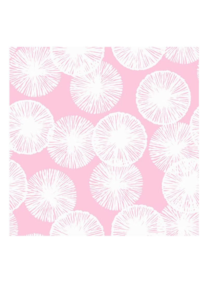 Shop Wallquest Soleil Circles Pattern Wallpaper Pink White