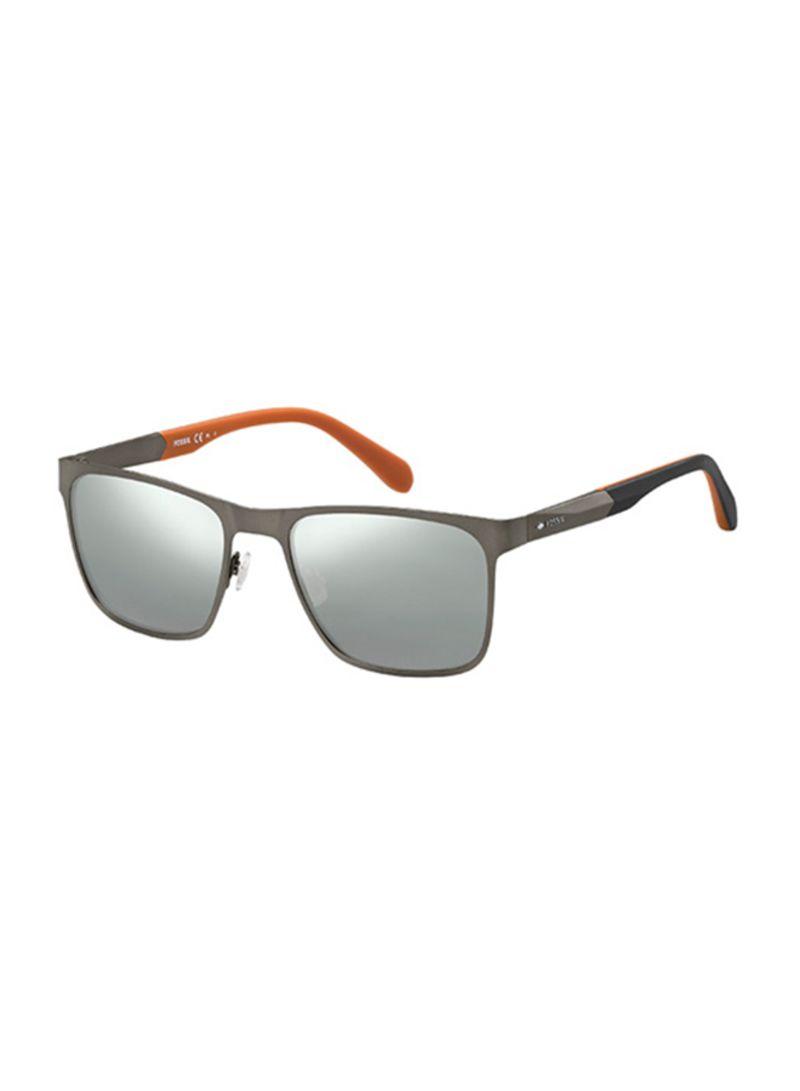 4d7f09e3e6 Men s Rectangle Sunglasses With Plastic Lens 716736064925