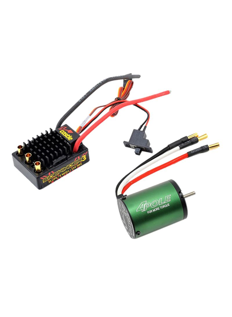 Shop Castle Sidewinder 3 Electronic Speed Control With Brushless Motor  CSE010-0115-03 online in Dubai, Abu Dhabi and all UAE
