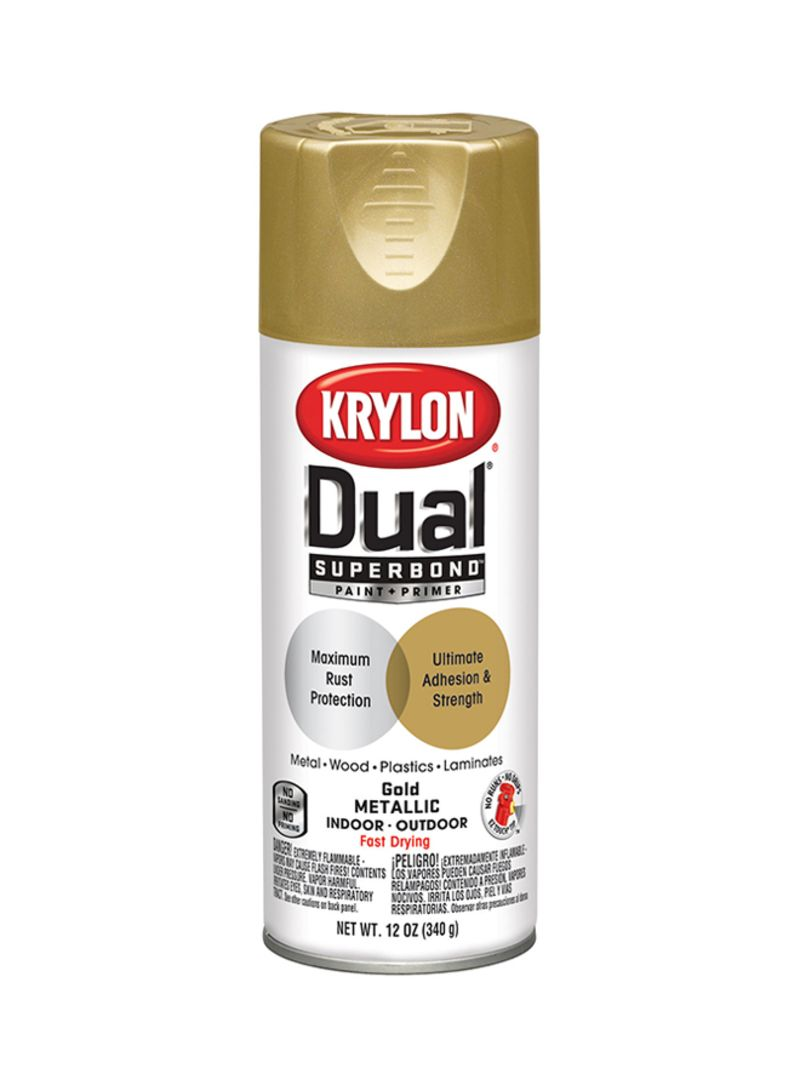 Shop KRYLON Dual Superbond Primer Spray Paint Gold 12 ounce online ...