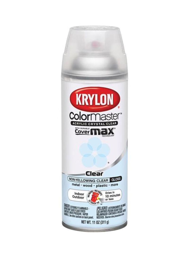 Shop Krylon Spray Paint Clear Gloss 11 Ounce Online In Dubai