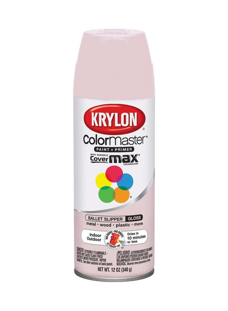 Shop Krylon Spray Paint Gloss Ballet Slipper 12 Ounce Online In Riyadh Jeddah And All Ksa