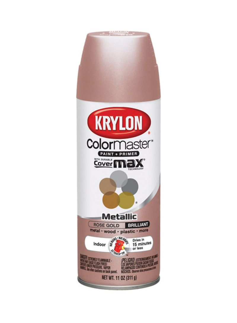 Shop Krylon Spray Paint Metallic Rose Gold 11 Ounce Online In Riyadh Jeddah And All Ksa