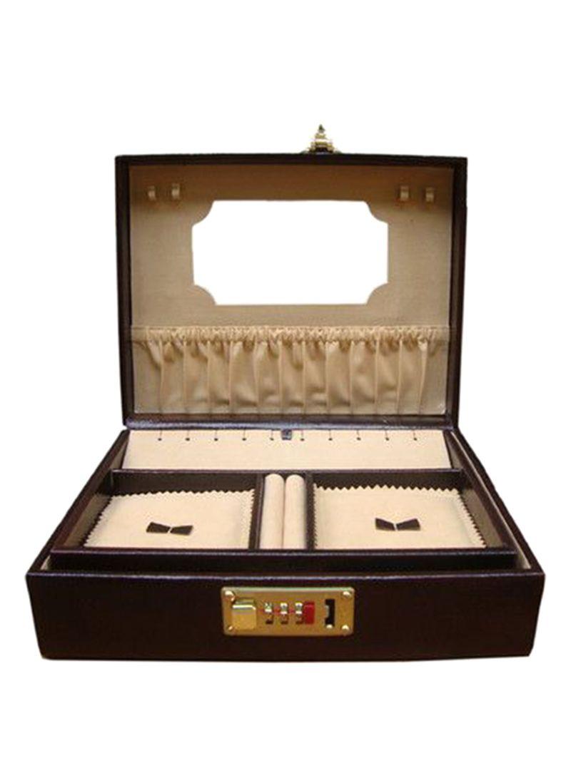 e15deed51 Shop Laveri Single Tray Leather Jewelry Box online in Dubai, Abu ...