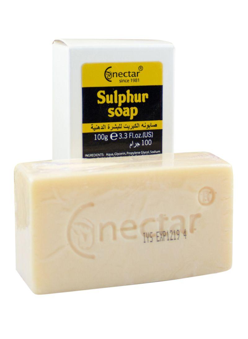 Shop Nectar Sulphur Soap 100 g online in Riyadh, Jeddah and