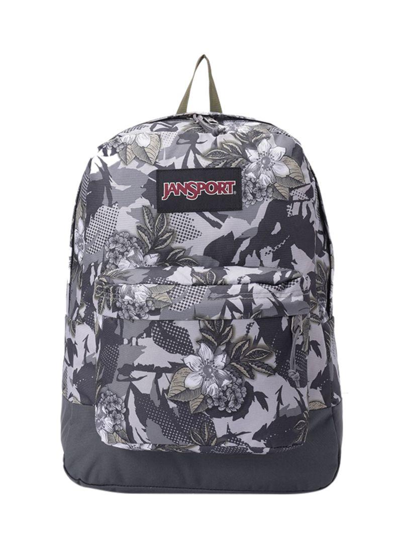 f20d2d14ae85 Shop JANSPORT Floral Print Zipper Closure Backpack online in Dubai ...