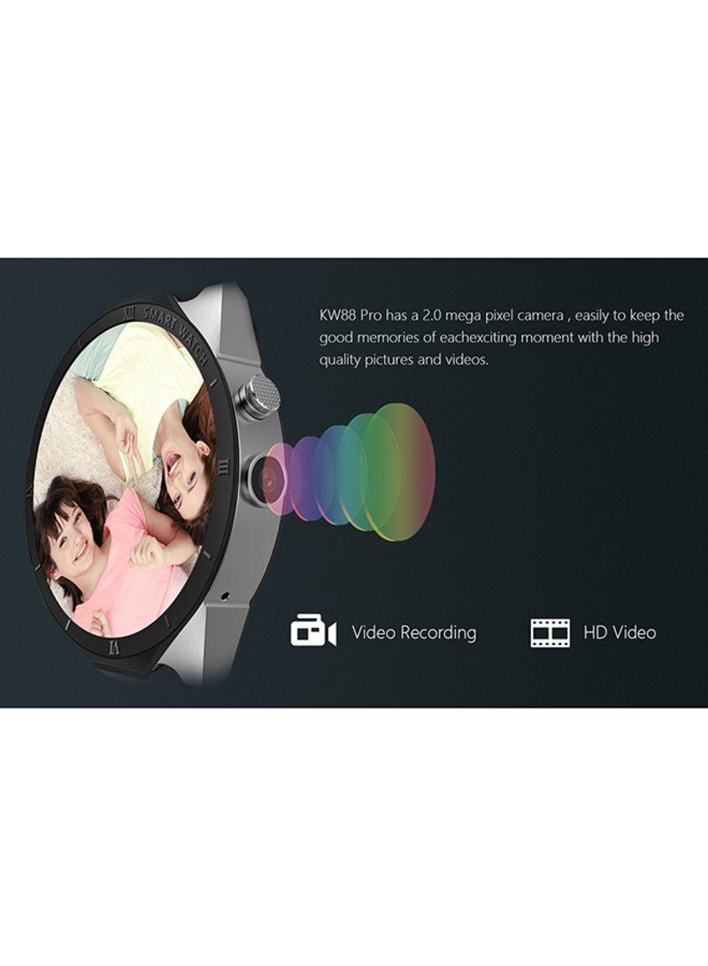 Shop Kingwear KW88 Pro Smartwatch Black online in Dubai, Abu