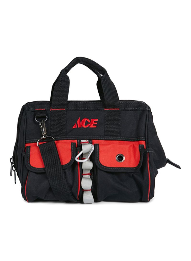 Ace Heavy Duty Tool Bag Red Black