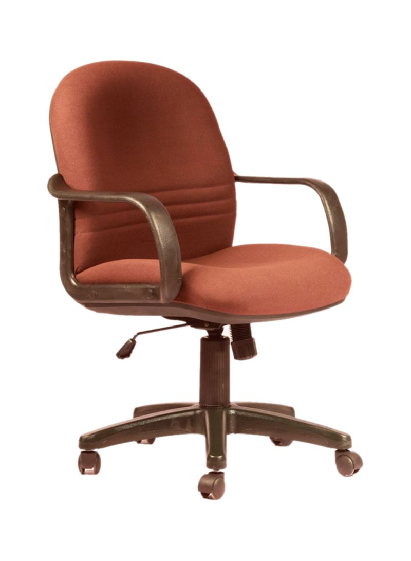 bde2d563b Shop Leaders Sigma Low Back Chair Brown Black online in Dubai