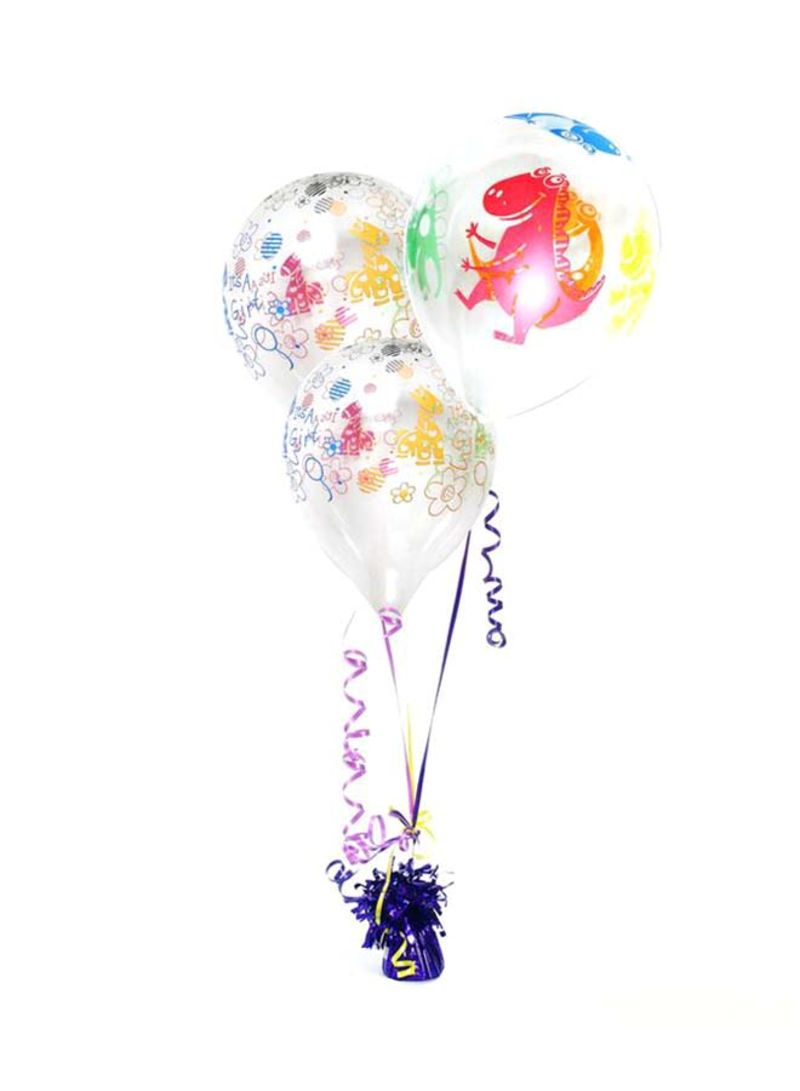 Shop Tamona 5-Piece Animal Printed Party LED Balloons 12 inch online in  Dubai, Abu Dhabi and all UAE