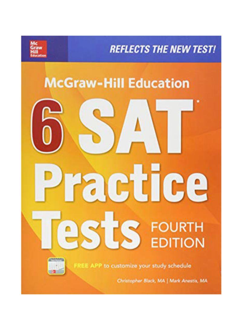 Shop 6 SAT Practice Tests Paperback 4 online in Dubai, Abu Dhabi and all UAE