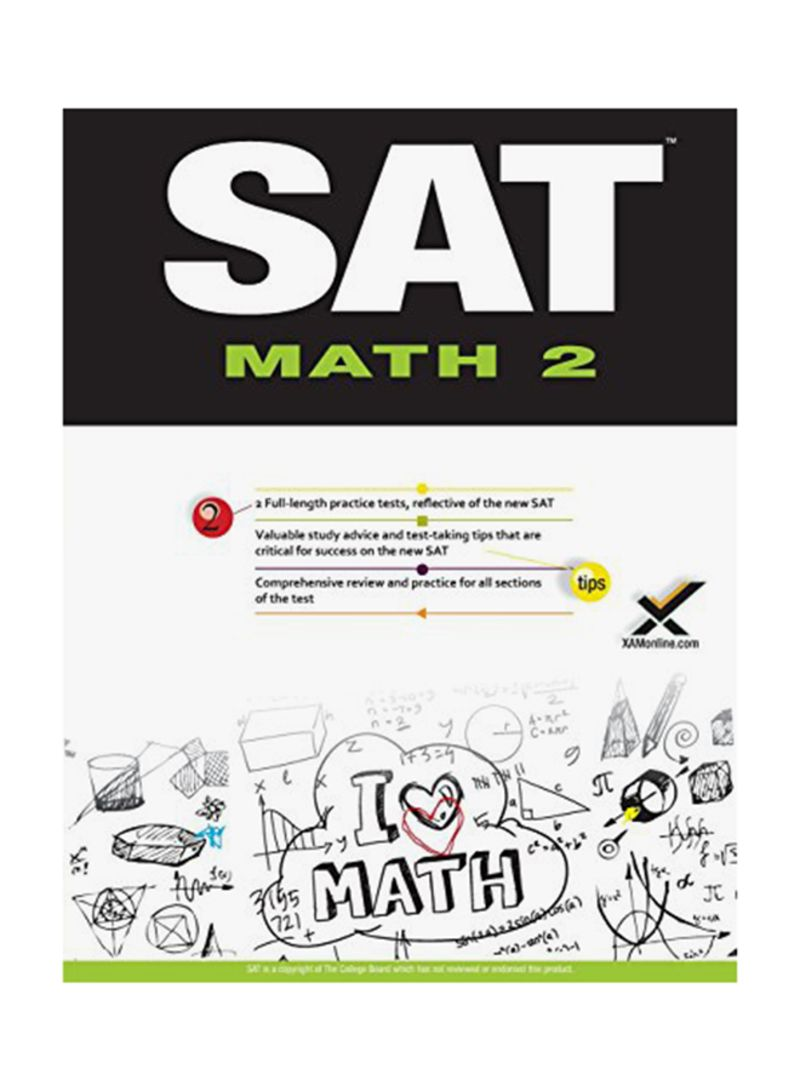 Shop SAT Math 2: Geometry And Precalculus Paperback online