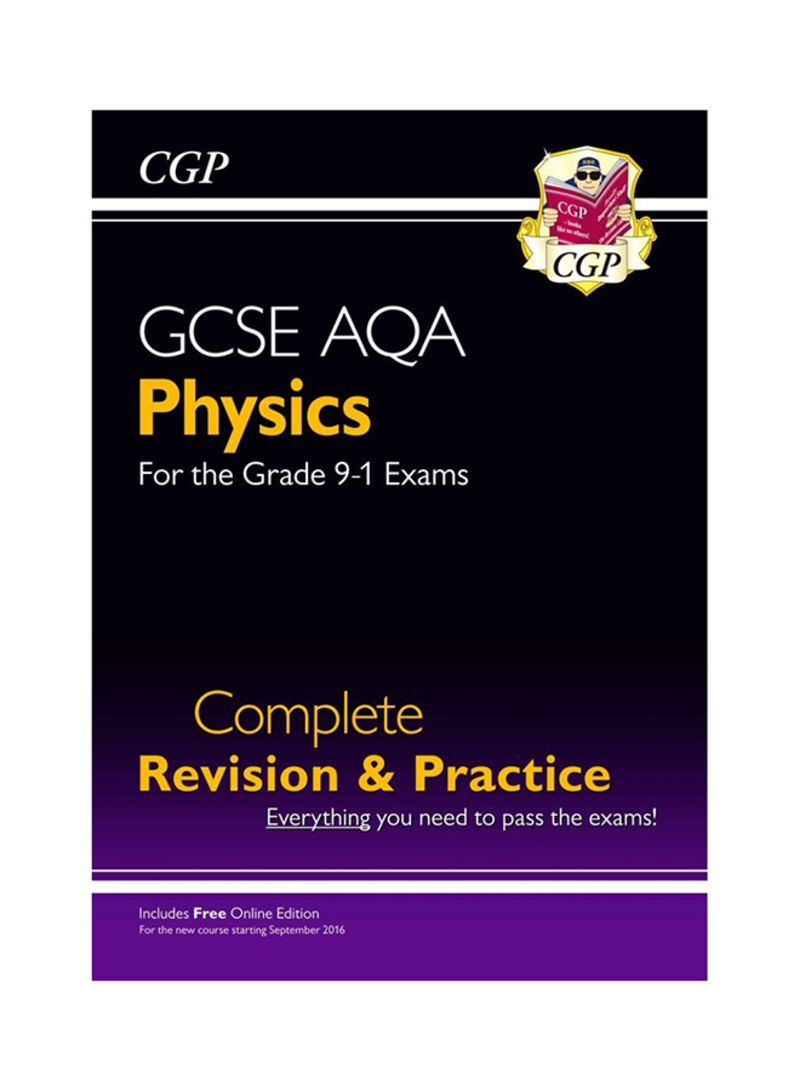 New Grade 9-1 GCSE Physics AQA Complete Revision & Practice with Online  Edition (CGP GCSE Physics 9-1 Revision) - غلاف ورقي عادي
