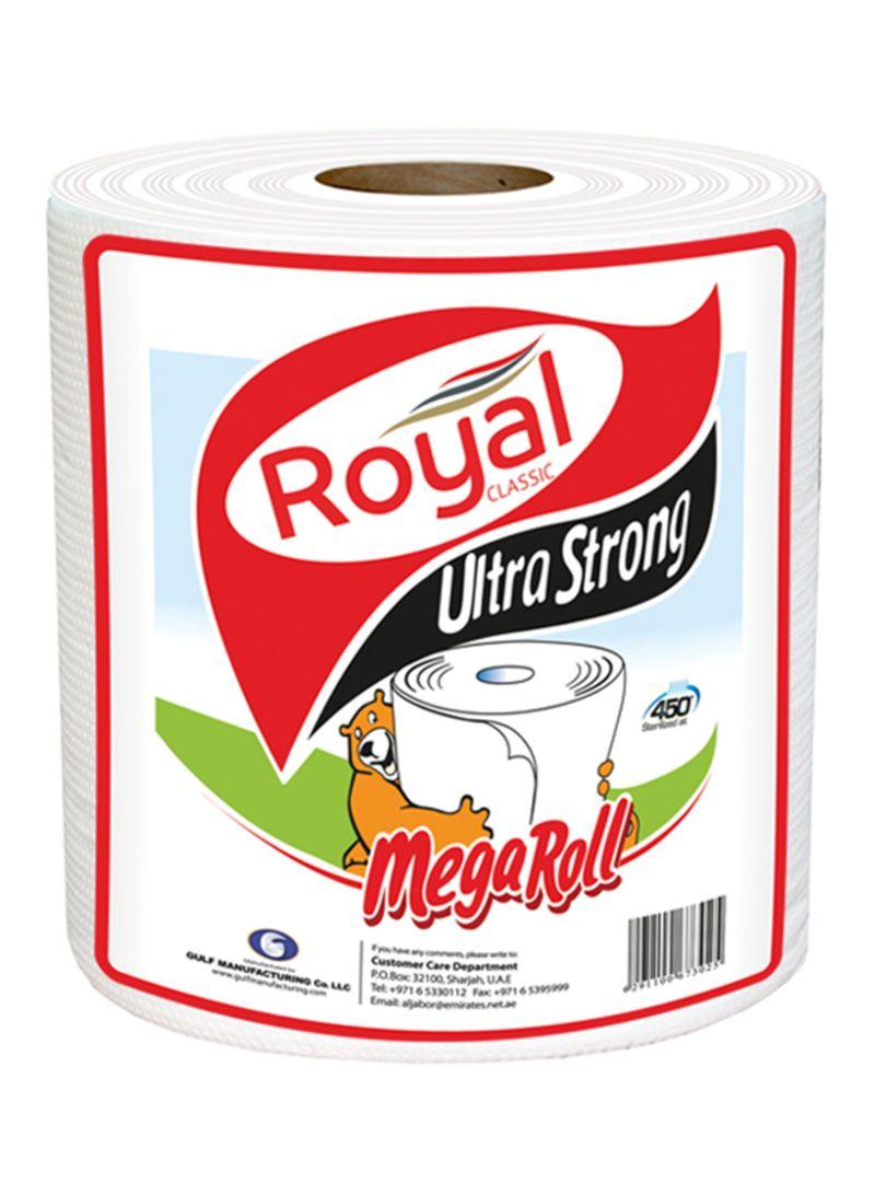 Shop Royal Classic Maxi Tissue Roll White 350 meter online in Dubai, Abu  Dhabi and all UAE