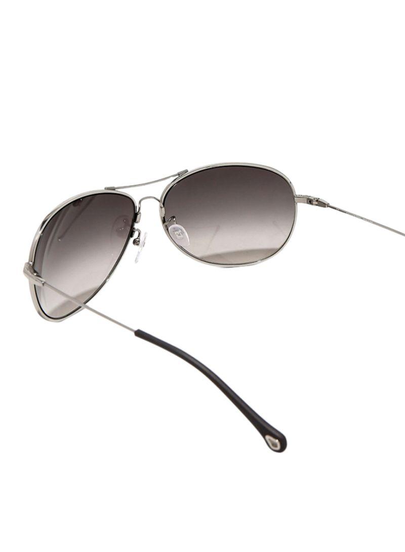 6f76fe3693 Shop Ermenegildo Zegna Aviator Sunglasses SZ3272G-579X online in ...