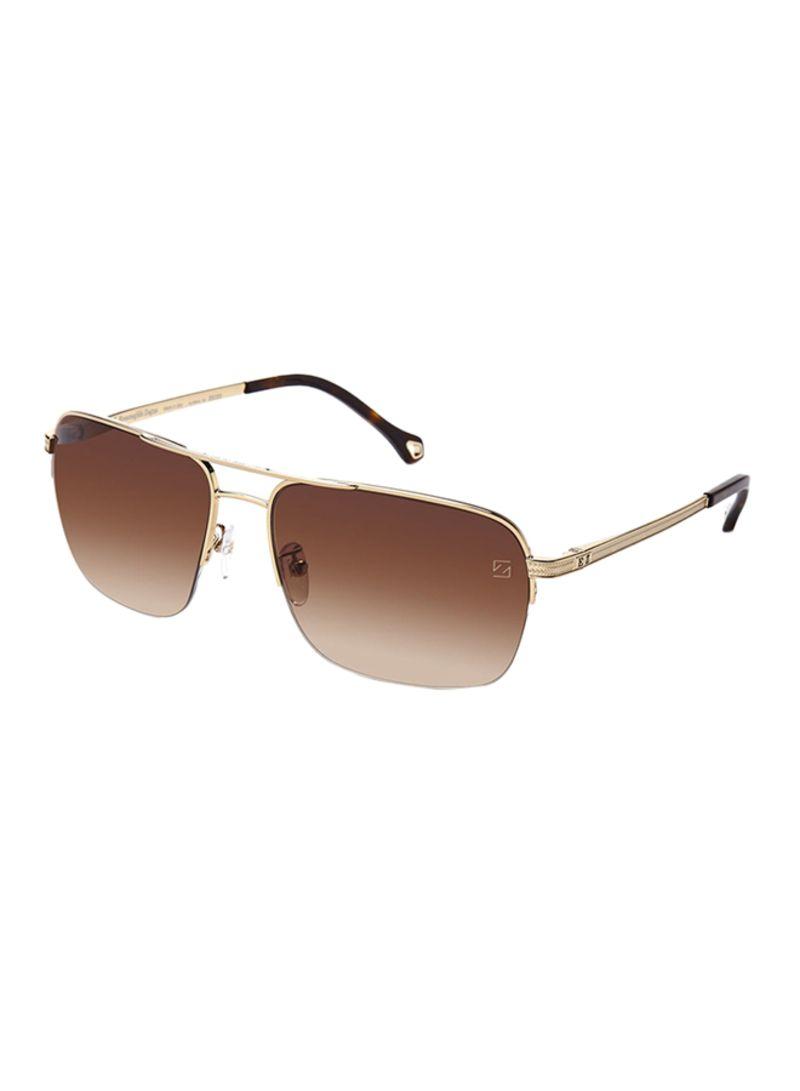 fde32e55c8 Shop Ermenegildo Zegna Aviator Sunglasses SZ3347-0300 online in ...