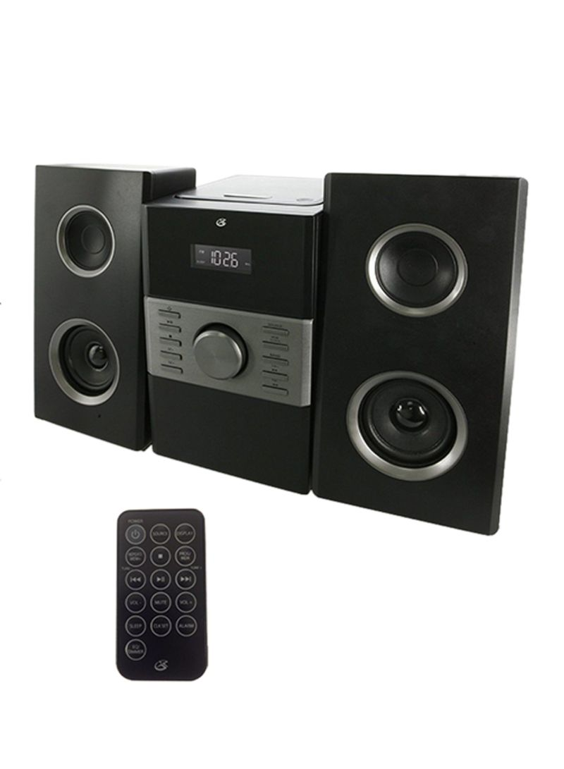 Shop GPX Stereo Home Music System HC425B Black/Silver online