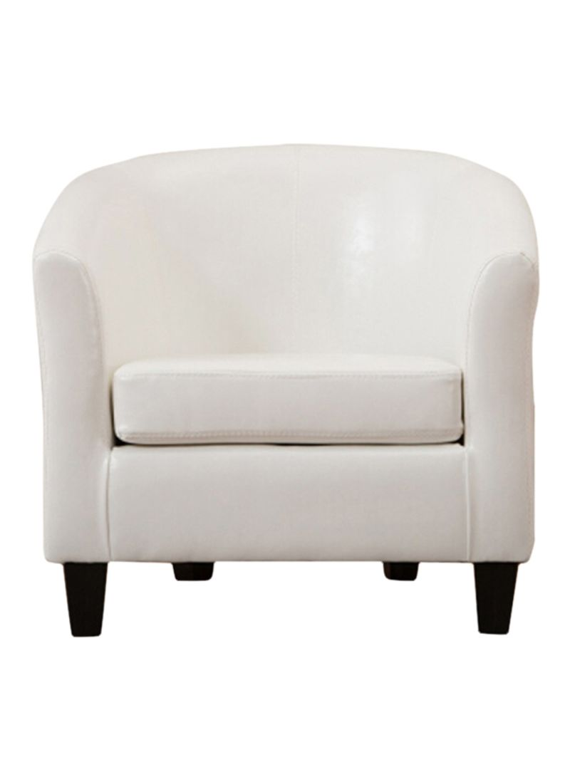 Shop Neo Front Single Seater Sofa White Online In Riyadh
