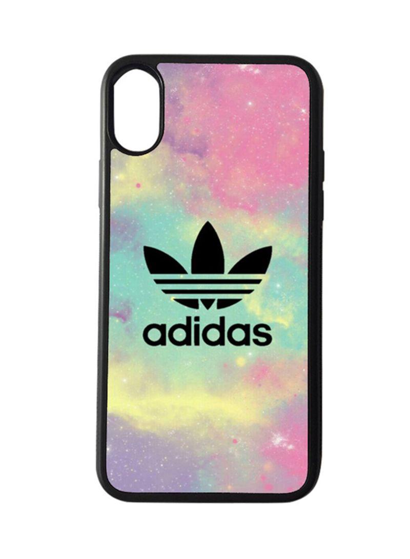 design di qualità 2ea44 26909 Shop BP Protective Case Cover for Apple iPhone X Adidas Logo ...