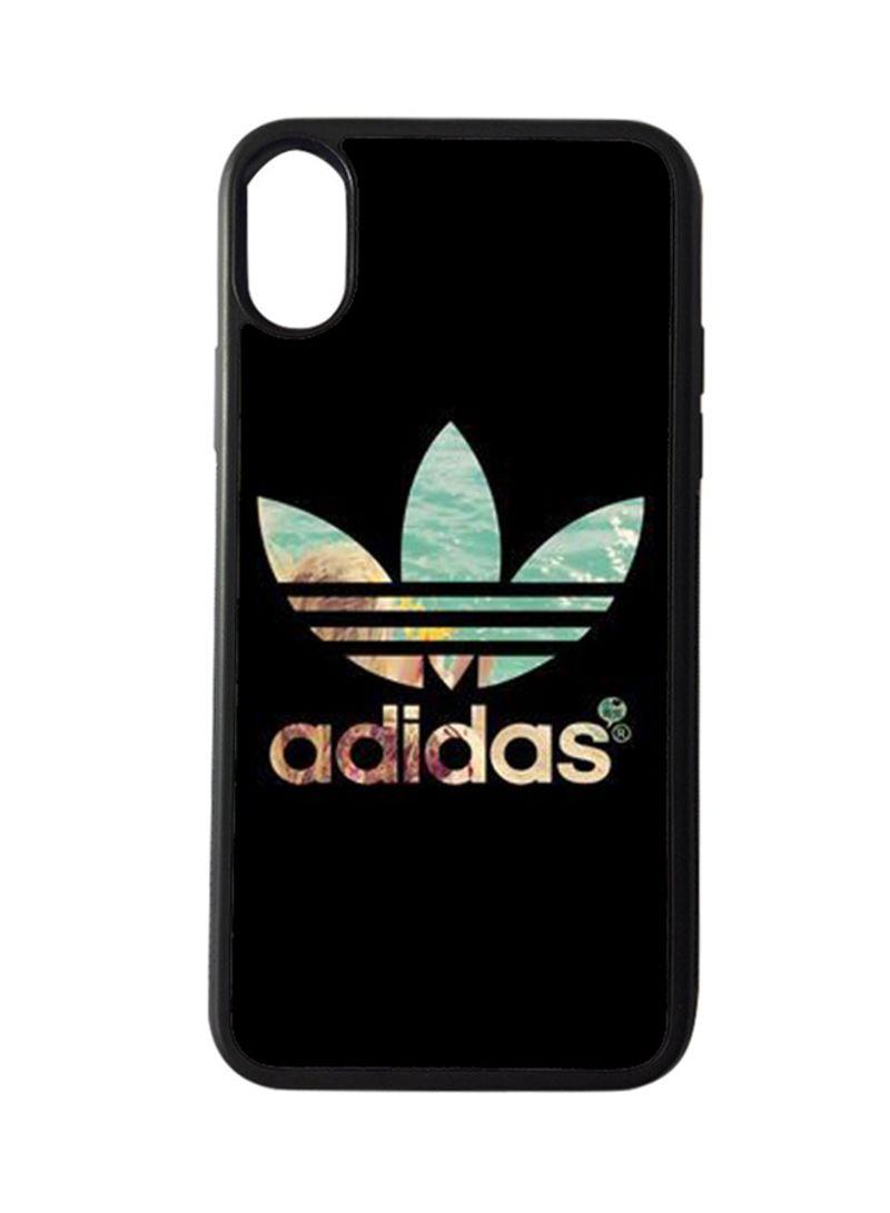 più foto 582e8 ecc49 Shop BP Protective Case Cover for Apple iPhone X Adidas Logo online in  Riyadh, Jeddah and all KSA