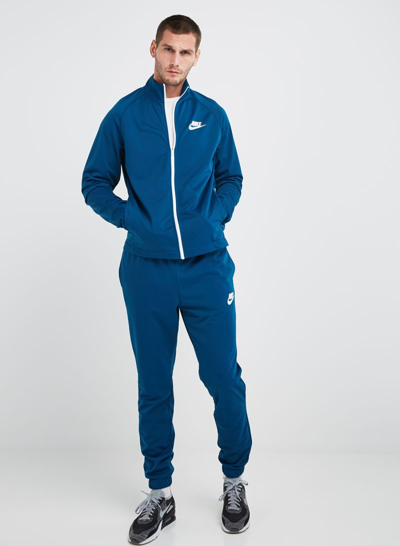 4340d0c1b Shop Nike NSW CE PK Basic Tracksuit Blue Force White online in Dubai ...