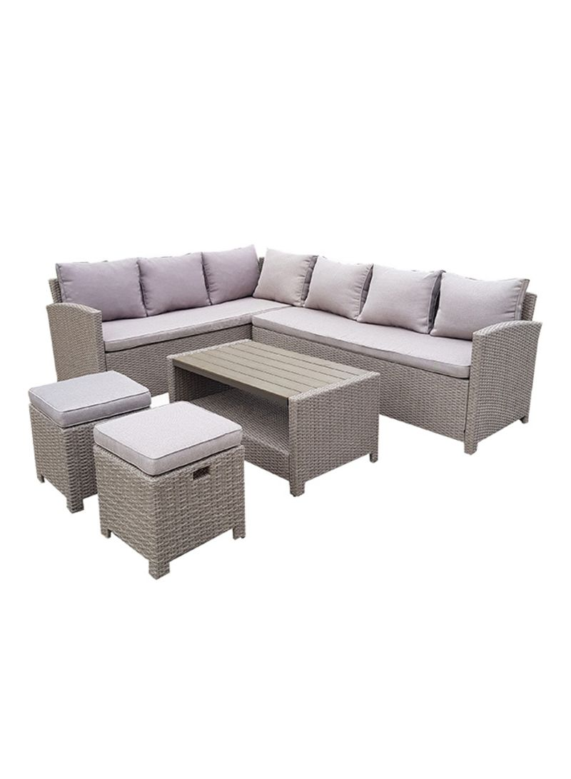 9 Seater Patio Furniture Set With Back Seat Cushions ?????  sc 1 st  Noon.com & ???? ???? ?9 Seater Patio Furniture Set With Back Seat Cushions ...