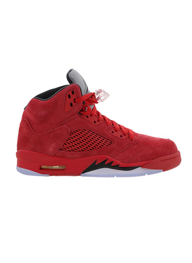 87c7e25d3 Shop Nike Air Jordan 5 Retro Lace-up Basketball Shoes online in ...