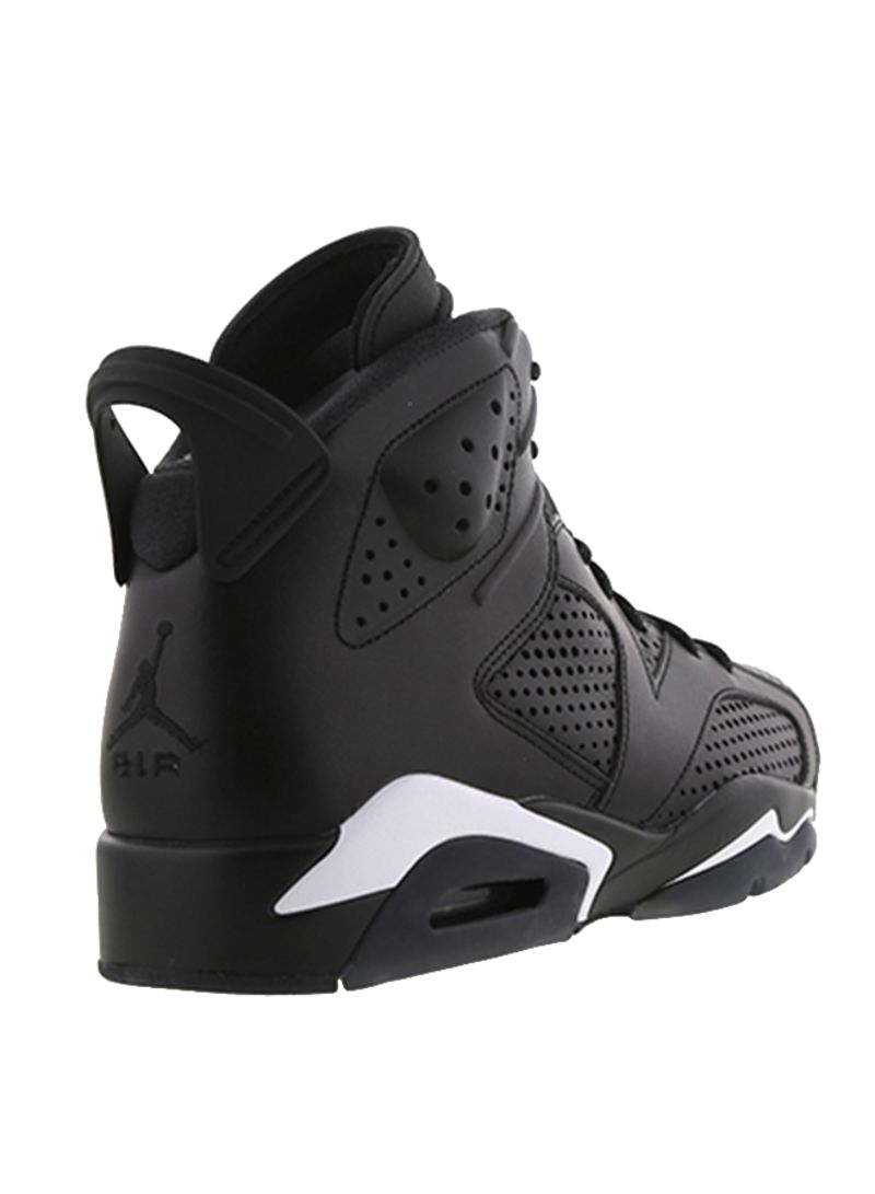 83a175ea6d7 Shop Nike Air Jordan 6 Retro Black Cat Lace-up Basketball Shoes ...