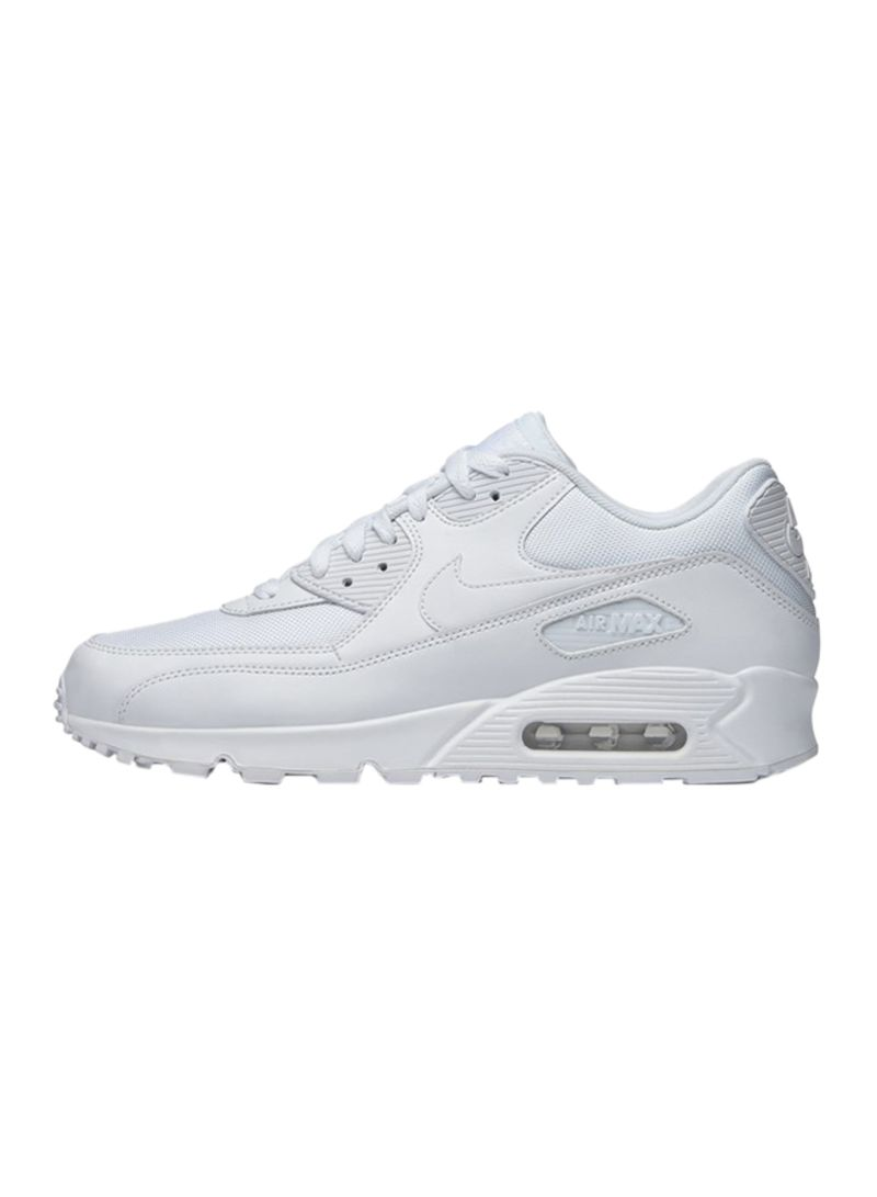 Shop Nike Air Max 90 Essential Lace Up Trainers online in