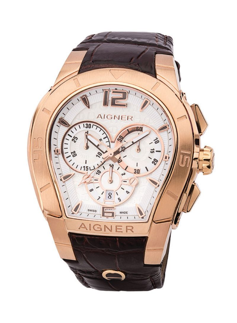 Infidelidad Limo dilema  Shop AIGNER Men's Palermo Leather Analog Watch M A58502 online in Dubai,  Abu Dhabi and all UAE