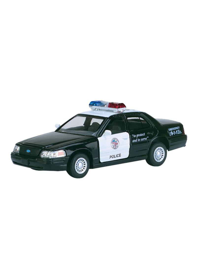 Shop Kinsmart Ford Crown Victoria Police Interceptor Diecast Car Kt5327d 5inch Online In Dubai Abu Dhabi And All Uae