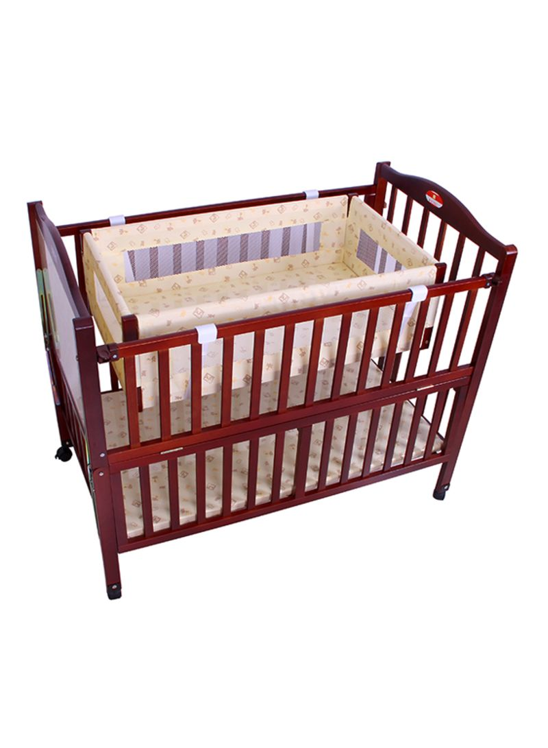 Shop Baby Plus Cradle Baby Wooden Bed With Mosquito Net Online In Dubai Abu Dhabi And All Uae