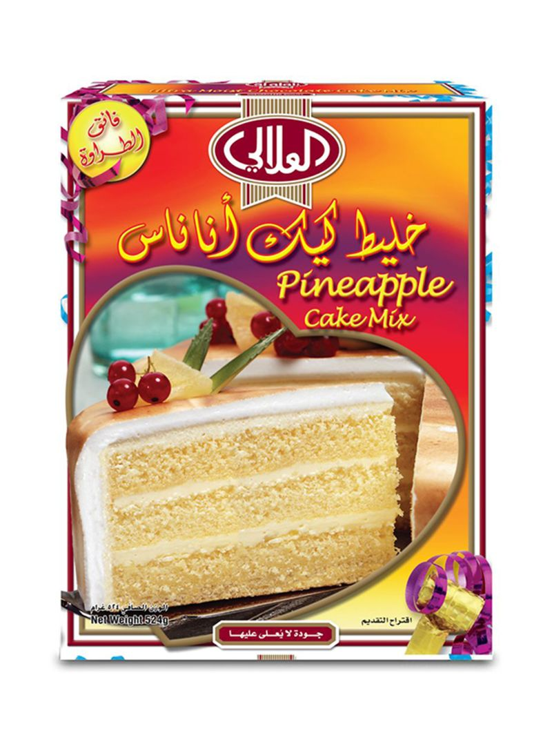 12 Cake Mix Pineapple 524g