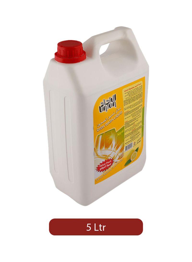 Lemon Dish Washing Liquid 5L