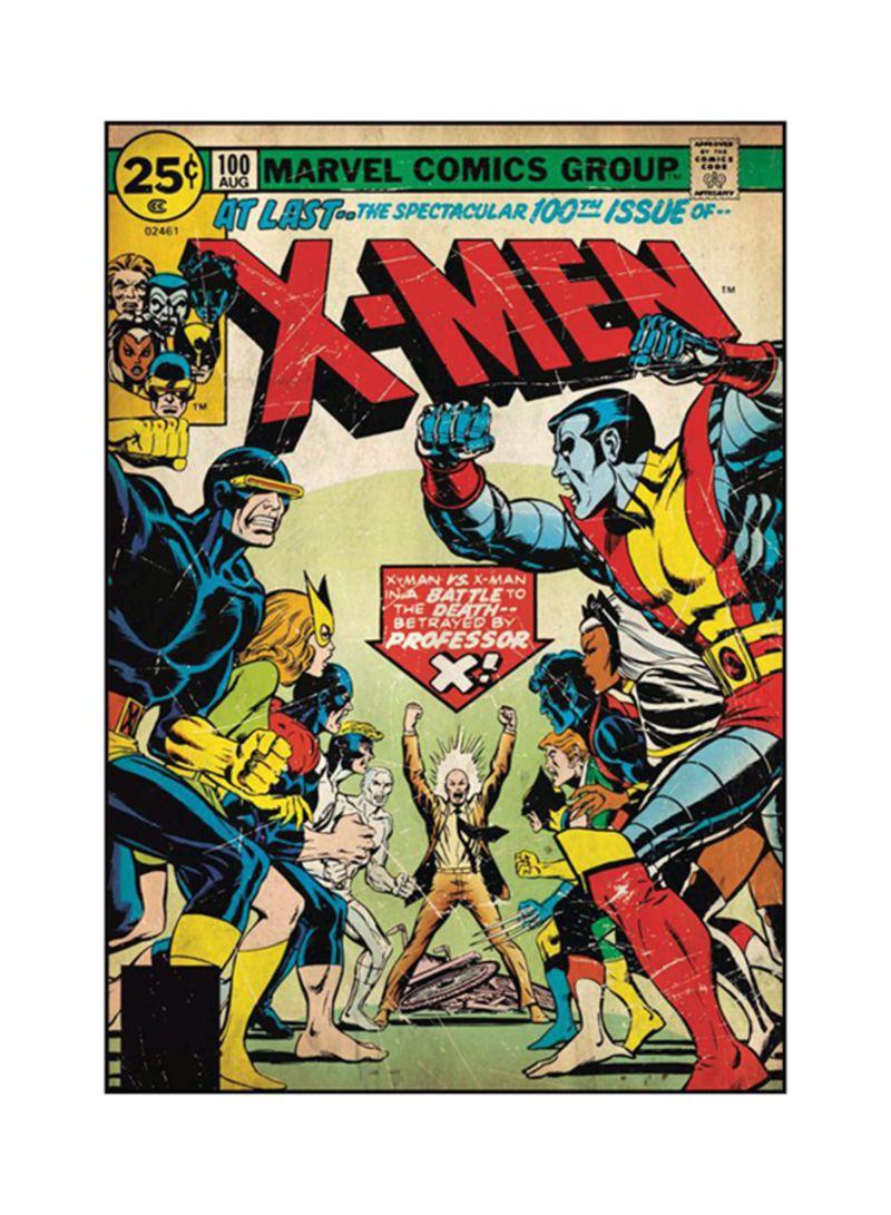 Shop York X Men Comic Cover Disney 2 Wallpaper Multicolour Online