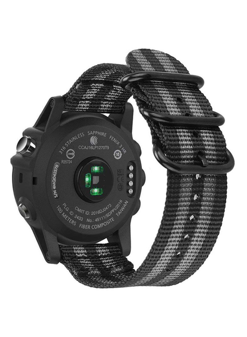 Shop Garmin Replacement Watch Band For Garmin Fenix 3 Fenix 3 Hr