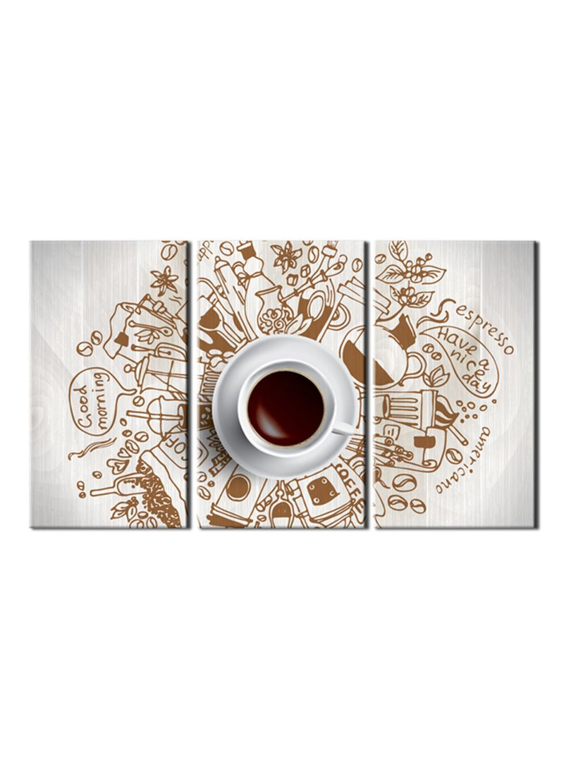 3 Home Decor Trends For Spring Brittany Stager: Shop MT 3-Piece Coffee Theme Canvas Painting With Frame