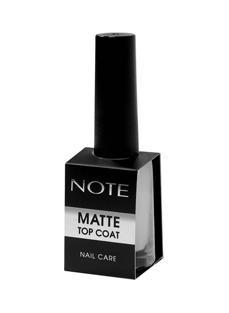 Shop Note Matte Top Coat Nail Care Clear Online In Dubai