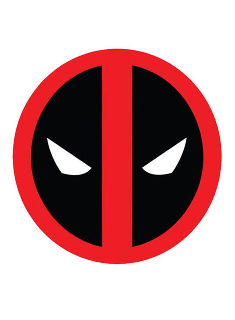 Deadpool Logo Overall red-Black