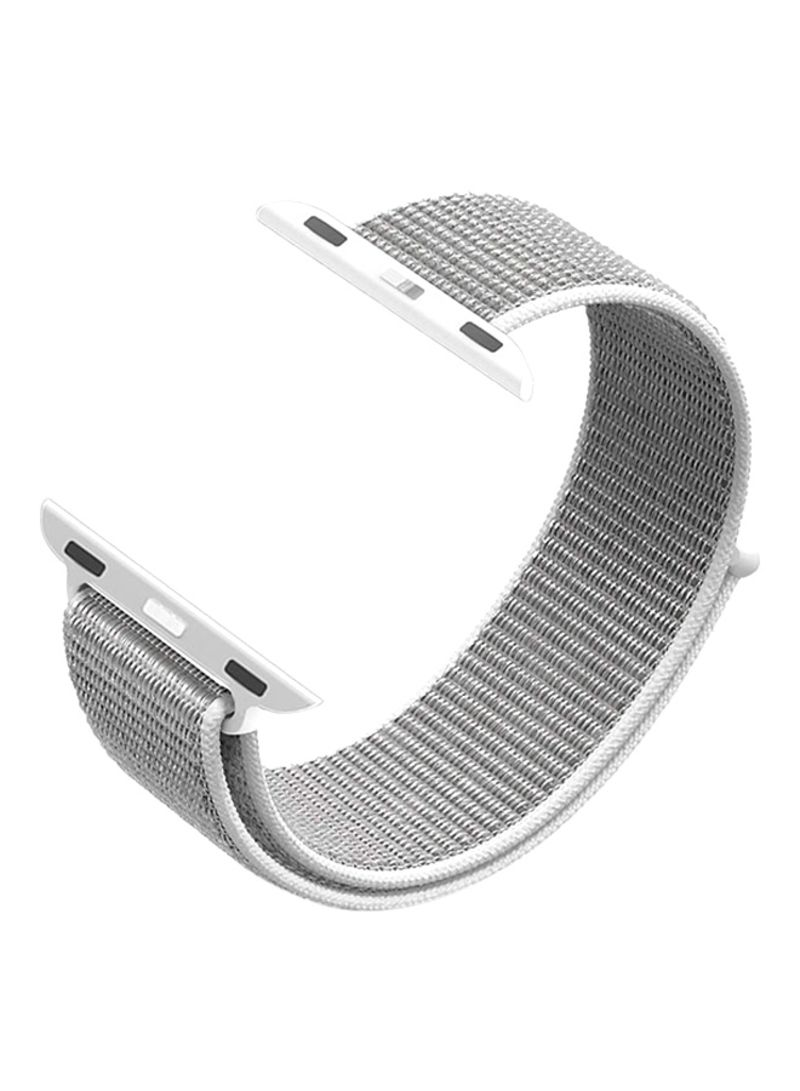 9bb6c826e472f Shop EHOME Replacement Band For Apple Watch 38mm Silver online in ...