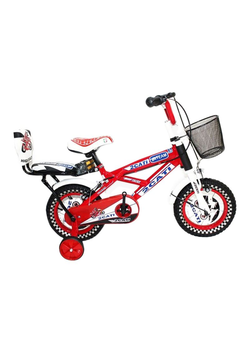 Shop Rally Double Seat And Side Wheels Bicycle 12 Inch 12 inch online in  Dubai, Abu Dhabi and all UAE