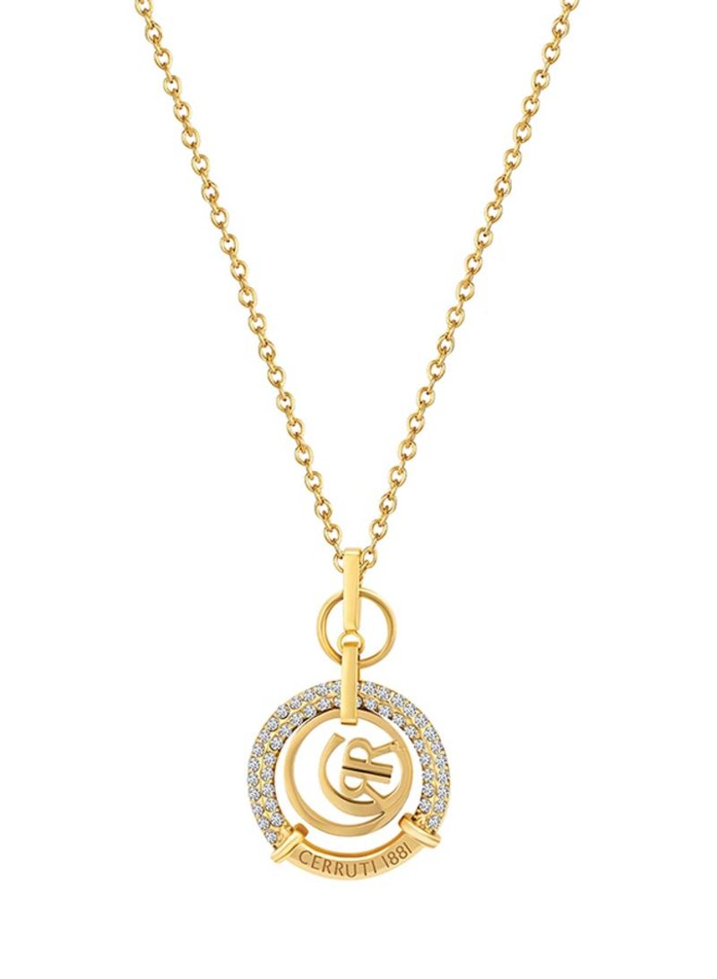 a46c4ed4c6 Shop CERRUTI 1881 Gold Plated Pendant Necklace online in Riyadh ...