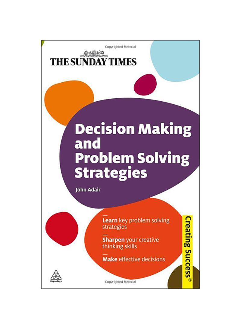 effective decision making and problem solving