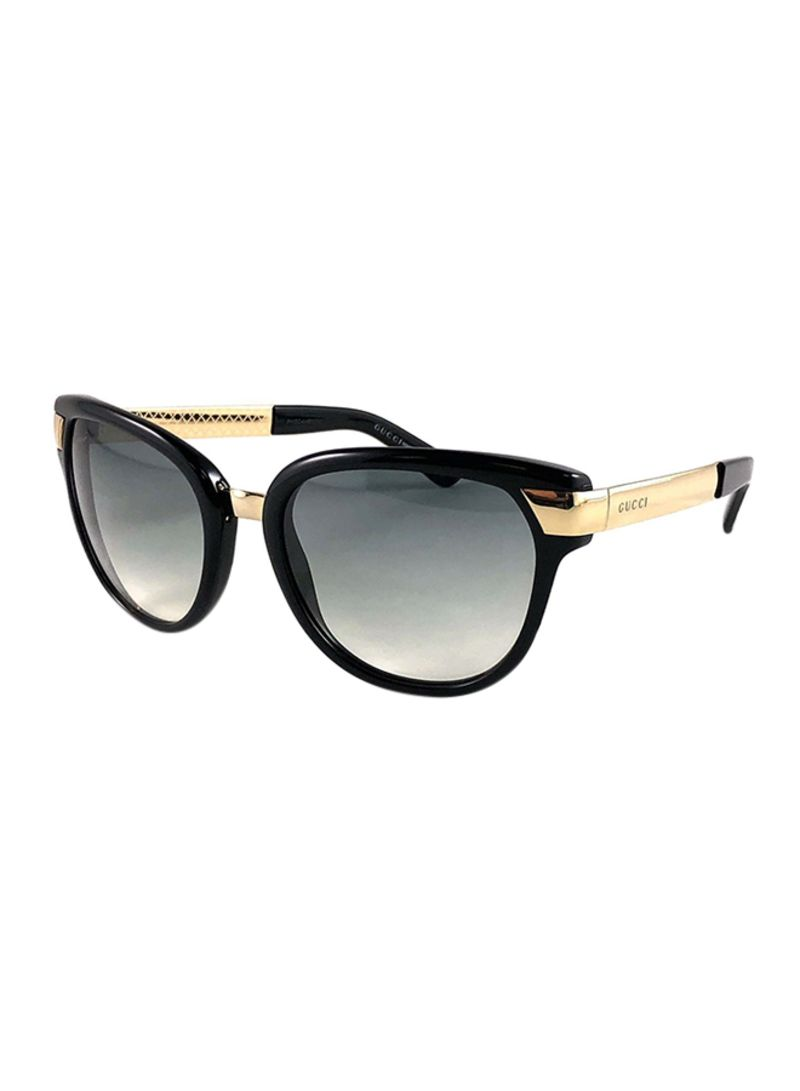 77177d8487bc Shop GUCCI Women's UV Protected Oval Sunglasses GG 3651 ANWYR online ...