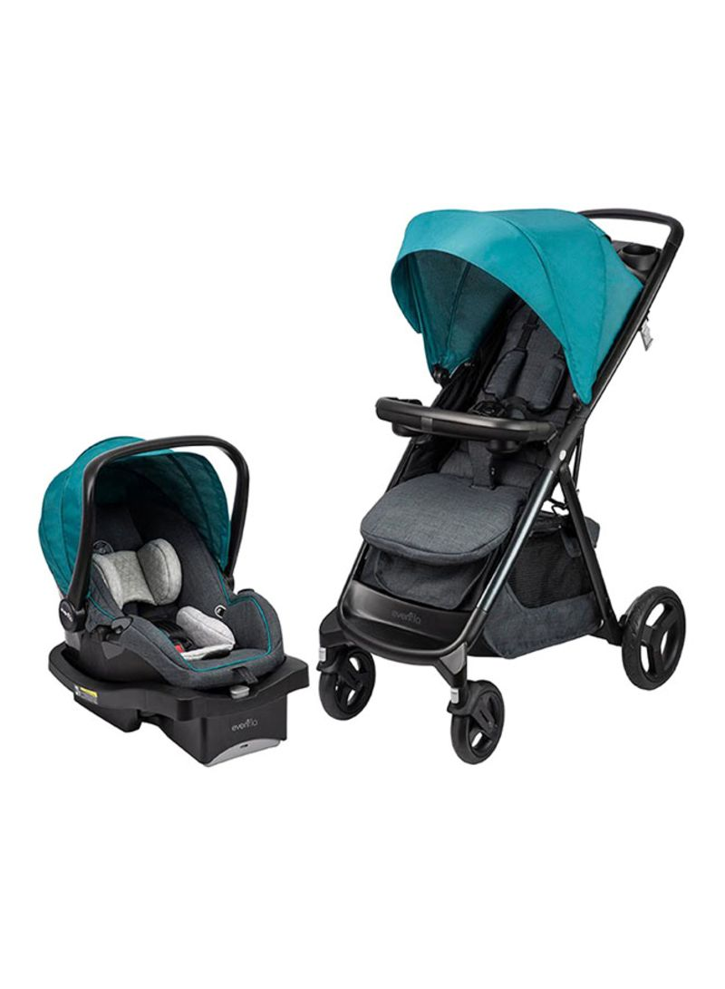 Shop Evenflo Lux24 Travel System With Litemax Car Seat 0 3 Years Online In Dubai Abu Dhabi And All Uae