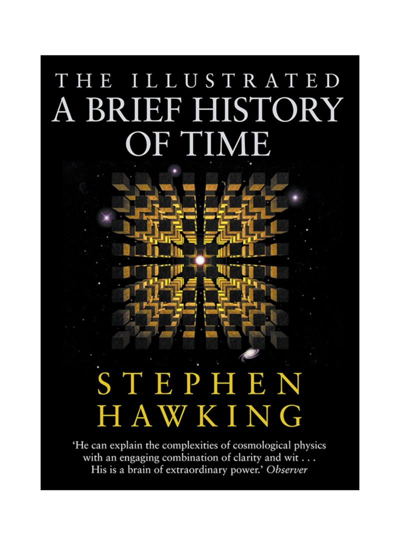 Shop The Illustrated A Brief History Of Time Hardcover Online In Dubai Abu Dhabi And All Uae
