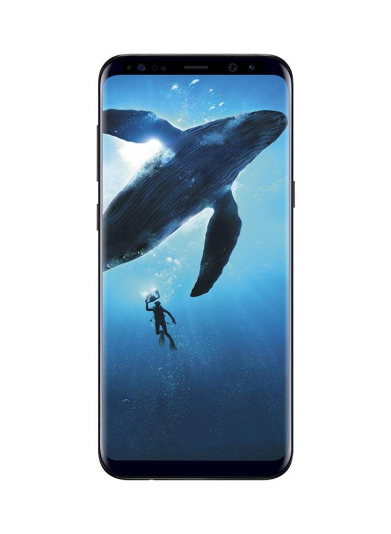 f3c566053c4 تسوق سامسونج وهاتف جالاكسي S8 ثنائي الشريحة باللون الأسود الداكن سعة ...