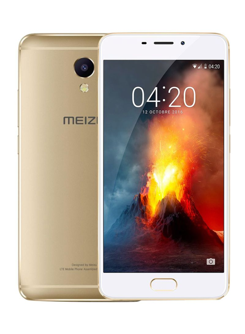 Shop MEIZU M5 Note Dual SIM Gold 16GB 4G LTE online in Dubai
